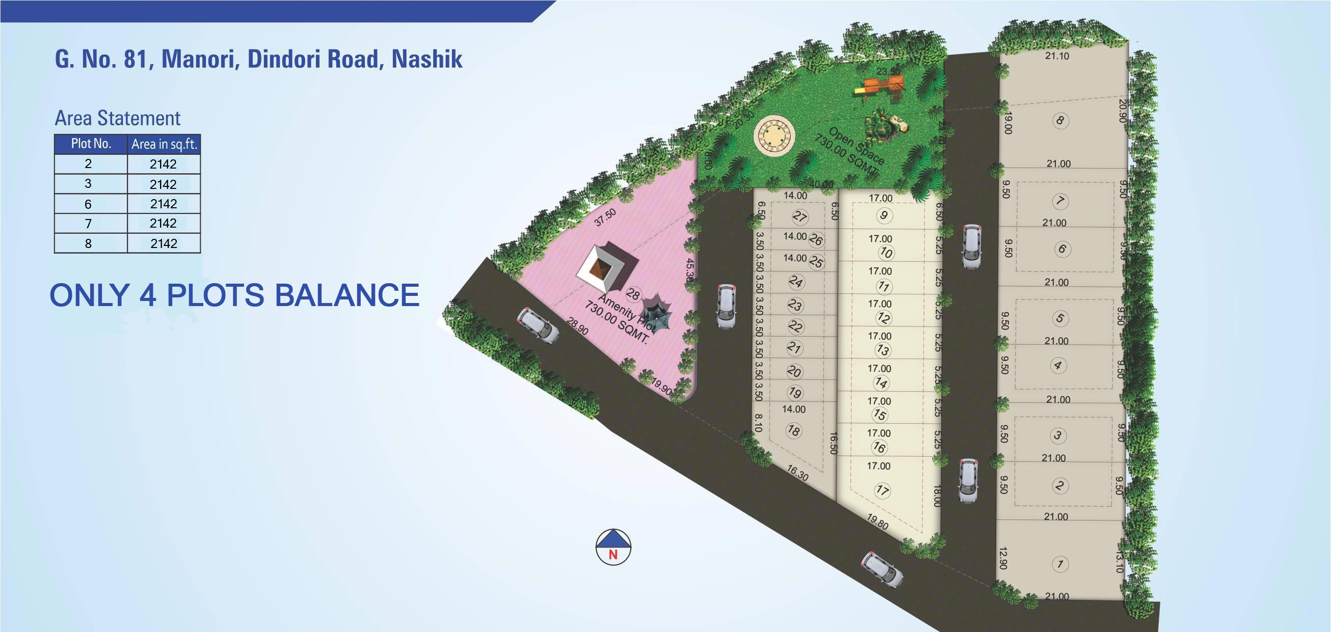 Plots in gangapur-road nashik