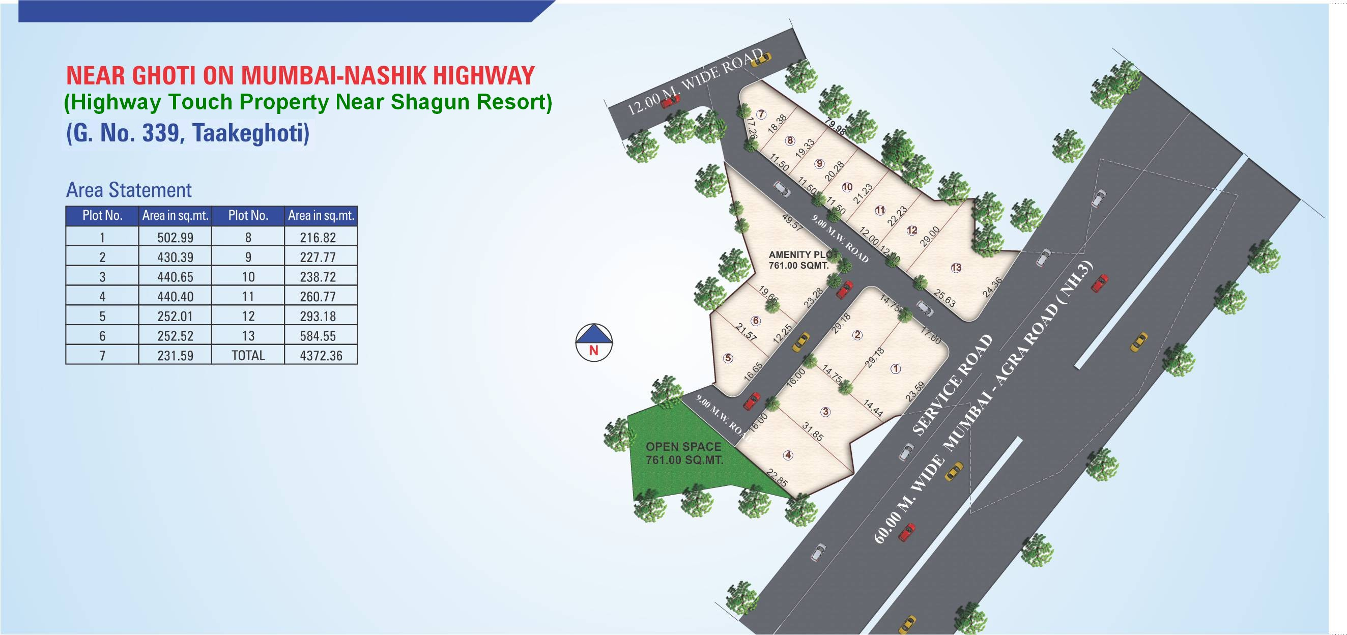 EMI plots in nashik